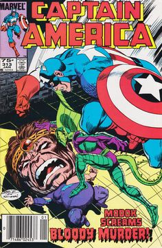 Cover for Captain America (Marvel 1968 serie) #313 [Direct Edition] January 1986