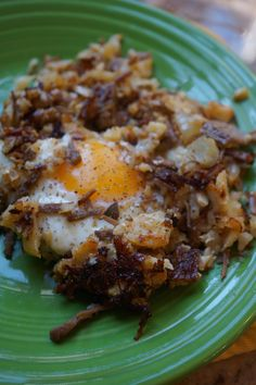 This Low-Carb Corned Beef Hash is a great way to use up leftover corned beef from St. Patricks Day. You wont miss the potatoes a bit!