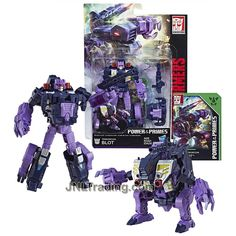 Year 2017 Transformers Generations Power of the Primes Series Deluxe Class 6 Inch Tall Figure - Terrorcon BLOT with Blaster, Prime Armor and Collector Card (Beast Mode: Ape Monster) Transformers Action Figures, Transformers Robots, Collector Cards, The Collector, Transformers Collection, Prehistoric Creatures, Hunter S, Thundercats, Beast Mode