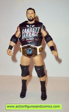 WADE BARRETT Elite Series 24 Wrestling Figure BARRAGE SHIRT ACCESSORY EA WWE