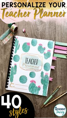 Design the perfect teacher binders and planners with 40 fabulous covers! Just click and start typing! Both Editable PowerPoint files and ready-to-go PDF files included! Lesson Planner, Teacher Planner, 6th Grade Activities, Student Teaching, Teaching Ideas, Teaching Shirts, Primary Teaching, Teacher Binder Covers, Classroom Themes