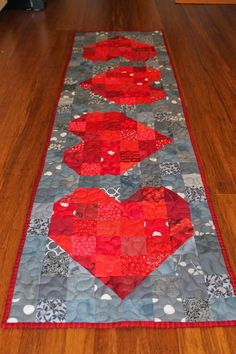 Quilting is more fun than Housework...: Oh Scrap! : Heart Block Projects