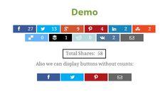 Widgets para compartir tus redes sociales en Wordpress