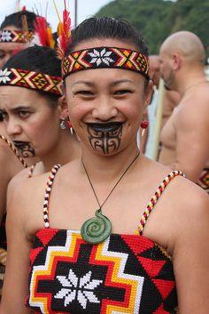 Maori Smile   Flickr - Photo Sharing!