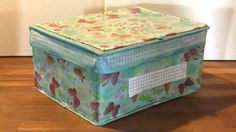 Home Jobs, Decoupage, Decorative Boxes, Sweet Home, Crafty, Diy Ideas, Home Decor, Decoration Home, House Beautiful