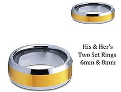 Men & Women 8MM/6MM Two Tone Gold Shiny Center & Beveled ... https://www.amazon.com/dp/B00B2SEJNI/ref=cm_sw_r_pi_dp_N4xFxbR4FXKFG