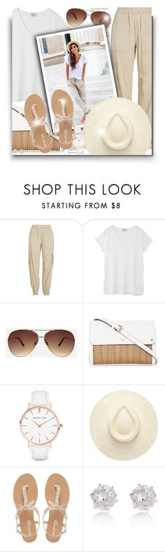 """""""Comfy summer look!"""" by asia-12 ❤ liked on Polyvore featuring Polo Ralph Lauren, Hush, Ashley Stewart, Abbott Lyon, Head Over Heels by Dune and River Island"""