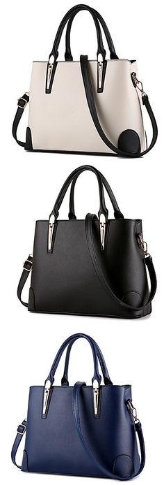 A classy and must-have tote bag for your office outfits. Isn't it gorgeous? Click for more details.