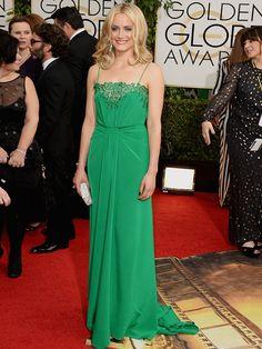Taylor Schilling  - Golden Globes 2014