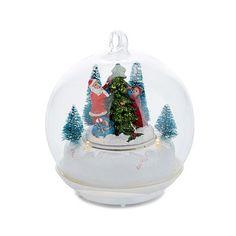 Winter Lane Lighted Musical Ornament - 8379767 | HSN