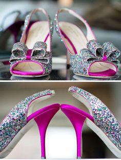 #Glam #sparkly Kate Spade #heels