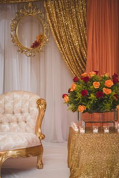 Fall  gold  orange  red  indian wedding  pakistani wedding  engagementTraditional Chair from Pakistani Wedding Collection    s  . Pakistani Wedding Room Decoration. Home Design Ideas