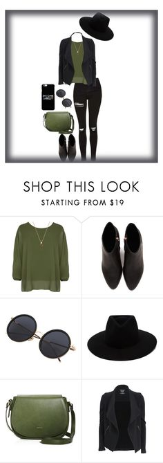 """""""Do i look lonely?"""" by mhizzdebbiboo ❤ liked on Polyvore featuring WearAll, Alexander Wang, rag & bone, Angela Roi and Majestic Filatures"""