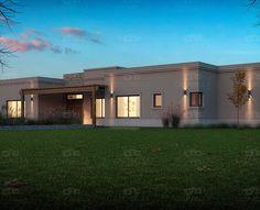 Casarella diseña cada proyecto a tu gusto y necesidad. Types Of Houses, Countryside, Architecture Design, House Plans, Floor Plans, Exterior, House Design, Patio, Mansions