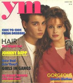 ym magazine!  Young and modern, I think it stood for.