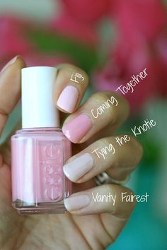 Essie Bridal 2016 - Mrs. Always Right Collection Review & Comparisons | Essie Envy http://amzn.to/2sD8wdT