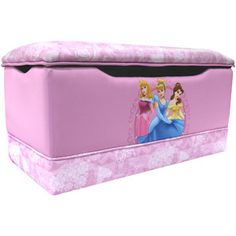 Disney Princess Hearts and Crowns Toy Box Storage Brand New Disney Princess Bedroom, Disney Princess Toddler, Princess Bedrooms, Big Girl Bedrooms, Princess Toys, Kids Bedroom, Bedroom Ideas, Disney Furniture, Girls Furniture