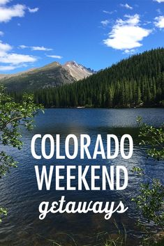 Fall is the perfect time for Colorado weekend getaways. As for what to pack: to expect the unexpected.