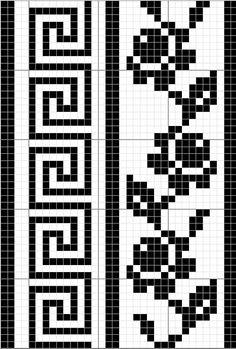 How to Make a Beautiful Crochet Dress crochet so charming ladies dress Crochet Borders, Crochet Chart, Filet Crochet, Crochet Stitches, Knit Crochet, Chrochet, Loom Patterns, Cross Stitch Patterns, Knitting Patterns
