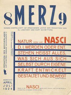 Merz, 1924. Lissitzky, Schwitters