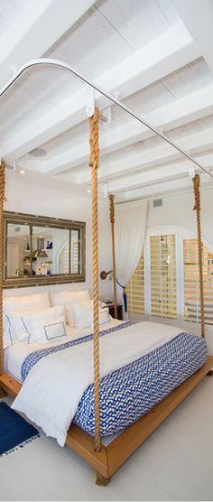 beach house Beach House Bedroom, Home Bedroom, Coastal Homes, Coastal Living, Coastal Style, Interior Design Inspiration, Country, Boy Room, Nautical