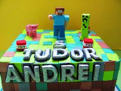 COMANDA TORT BUCURESTI: Torturi Minecraft