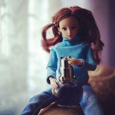 "Ди и духи. Для квеста ""Запах""  #куклы #духи #Ди"