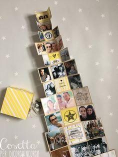 Buongiorno! Oggi è il mio giorno per il post di Di Corso in Corso e voglio mostrarvi e darvi qualche idea per festeggiare i vostri cari, nel mio caso si trattava di un compleanno mooooolto importan… Diy Mini Album, Mini Albums Scrap, Mini Scrapbook Albums, Album Photo Scrapbooking, Photo Cubes, Exploding Box Card, Diy And Crafts, Paper Crafts, Folded Cards