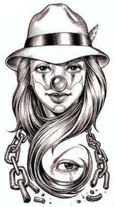 Clown Tatt