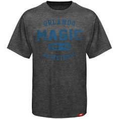 Sportiqe Orlando Magic Comfy Alvin Tri-Blend Premium T-shirt - Charcoal