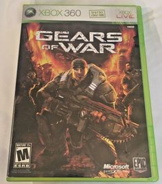 Xbox 360 Live Gears Of War Video Game Microsoft Mature