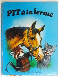 Album PIT à la ferme (1972) Collection Belles années sur www.muluBrok.fr Vintage