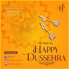 Celebrate the victory of the forces of good over Evil. Lets celebrate an auspicious day to begin new things in life. Lord Durga, Happy Dusshera, Hd Background Download, Happy Navratri, Silver Gifts, Hd Backgrounds, Lets Celebrate, Victorious, Cheer