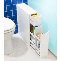 Magnet 3pagen Magnet Koupelnová skříňka, bílá 336730