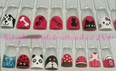 Kid's nail designs