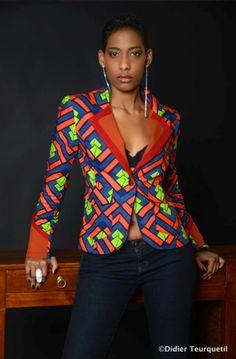 Hot mix n match blazer African Print Fashion, Africa Fashion, Ethnic Fashion, Ankara Fashion, African Wear, African Attire, African Dress, African Style, Nigerian Outfits