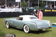 1955 Chrysler Ghia Falcon at Amelia Island Cocours d'Elegance 2014
