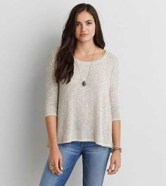 AEO Feather Light Pullover Sweater - Buy One Get One 50% Off