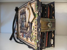 This is a beautiful Olde Curiosity Shoppe album by @Anne Elisabeth Rostad where…