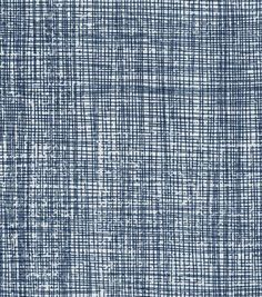 Keepsake Calico™ Cotton Fabric-Crosshatch Blue Dark
