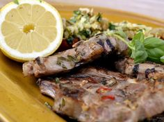 Ernsts lammkotletter Lamb, Steak, Beef, Recipes, Food, Meat, Meals, Ox, Eten