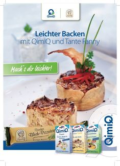 Rezepthefte - QimiQ Camembert Cheese, Muffin, Breakfast, Food, Fresh, Food Food, Cooking, Simple, Morning Coffee