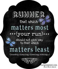 running quote, run inspiration, motivation, fitness, #oursoleintent #inspiredmovement #livelovemove
