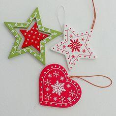 Christmas Handmade Paper Craft Decorations_58