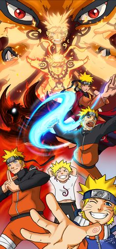 Naruto Evolution of a Hero! by JazylH.deviantart.com on @deviantART