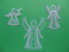Bobbin Lace Patterns, Brooch, Ideas, Blue Prints, Dishcloth, Figurine, Christmas, Brooches, Thoughts