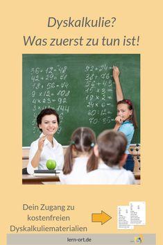 Was ist zu tun, wenn Du glaubst, Dein Kind leidet unter Dyskalkulie? Movies, Movie Posters, Blog, Learn To Read, Homework, Teaching Kids, Kids Learning, Math Teacher, Protecting Children Quotes