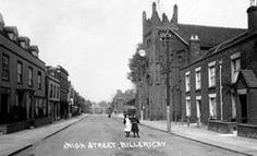 ESS 976 High Street, Billericay, Essex showing St Mary's Church Date: about 1910 to 1920 Essex England, B Image, Living In England, Local History, Back In Time, Britain, Past, To Go, Street View