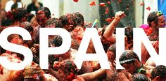 Attend LaTomatina festival at Valencia Spain..celebrated on the last Wed in the month of August each year...