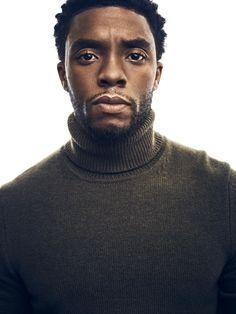 Chadwick Boseman on the Pressure to Get 'Black Panther' Right Black Panther Marvel, Black Panther Art, Black Panthers, Black Boys, Black Men, Black Is Beautiful, Gorgeous Men, Black Panther Chadwick Boseman, Man Thing Marvel